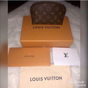 Authentic Louis Vuitton Cosmetic Pouch (2018)